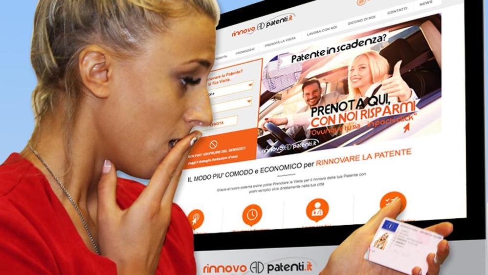La patente di guida si può rinnovare online?