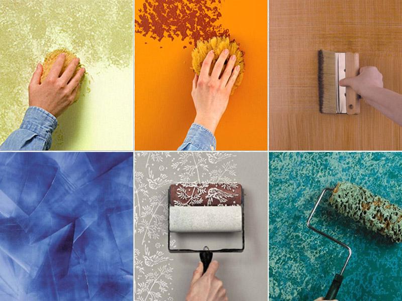 La tinteggiatura delle pareti fai da te immobil social - Decorazioni pareti fai da te ...